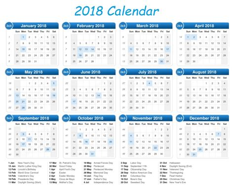 printable calendar 2018 in one page calendar 2018 printable one page latest calendar