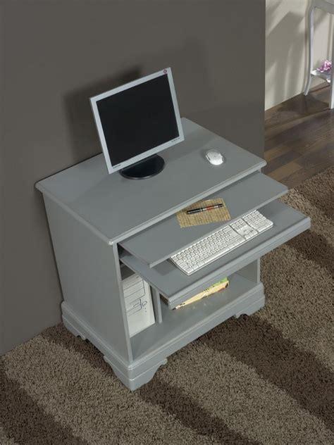 bureau gris laqu bureau informatique en merisier de style louis philippe