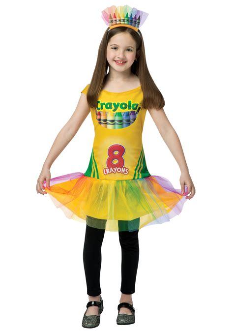 child tutu crayon dress
