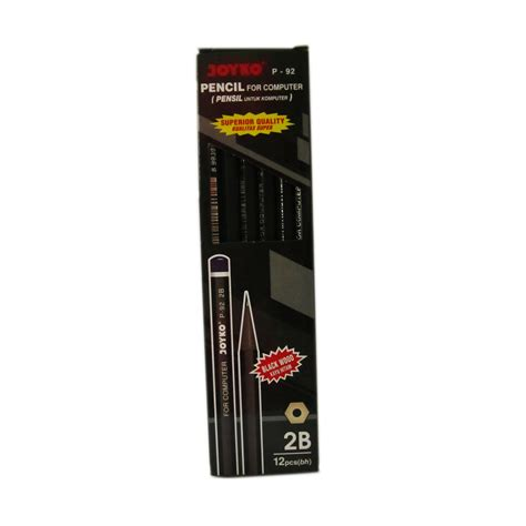Pen Paper Pensil Joyko 2b P 88 joyko pencil p 92 2b black wood 12 pcs elevenia