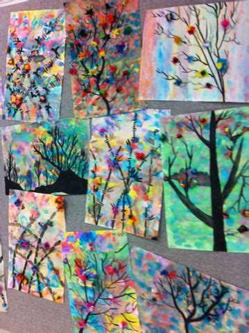 spring painting ideas 274 best images about spring art projects on pinterest