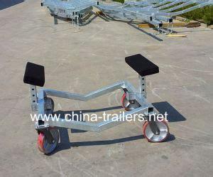 boat trolley plans small boat trailer dolly china china boat dolly boat