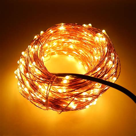 30m 300 Led Outdoor Christmas Fairy Lights Warm White String Lights Uk