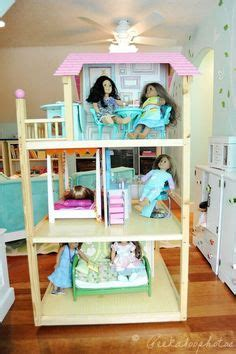 ag doll house american girl doll on pinterest canopy beds american girl dolls and american girl