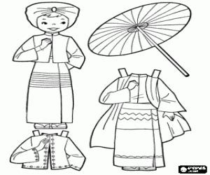dress coloring pages games burma doll a dress up game coloring page printable game