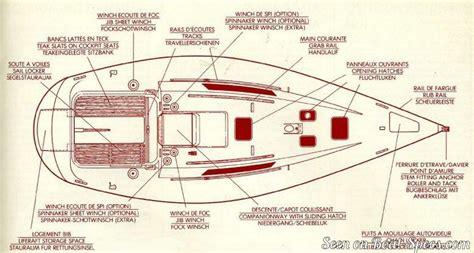sailboat layout first 30e s deep draft b 233 n 233 teau sailboat