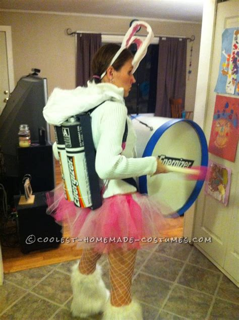 Coolest Handmade Costumes - cool energizer bunny costume
