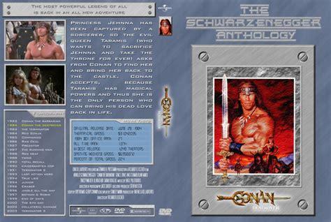 conan the destroyer dvd cover conan the destroyer schwarzenegger anthology movie dvd