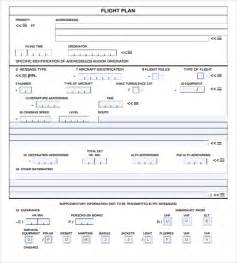 Pilot Project Plan Template by Sle Flight Plan Template 9 Free Documents In Pdf Word