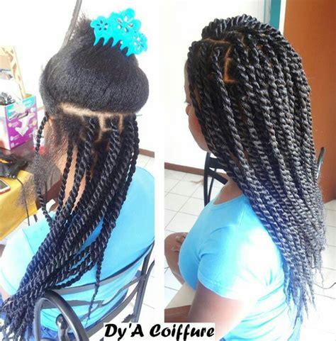 large braided hair piecesin salt n pepper cuba kinky hair in salt and pepper color salt and pepper