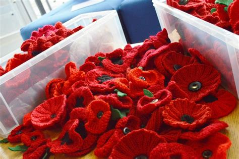 knitting pattern for a poppy flower the big poppy knit can you knit or crochet poppies to