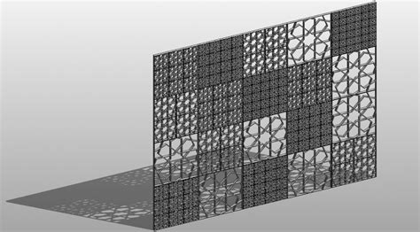 revit wall pattern not showing rtc asia 2015 my class i unfold the curtain part 2