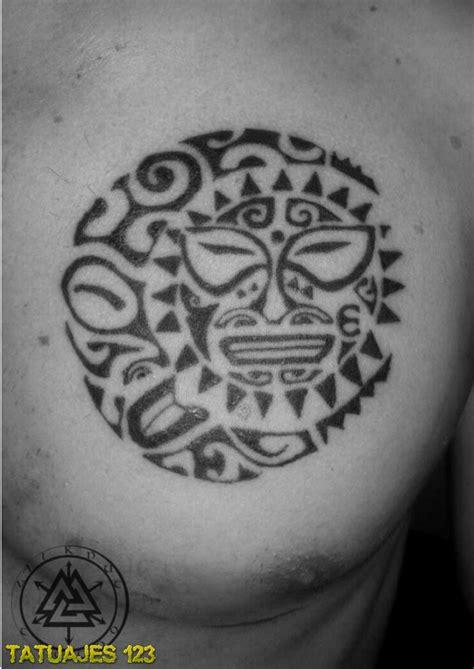 imagenes de sol y luna para tatuar sol maori tatuajes imagui