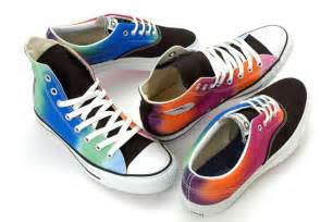 colorful converse converse chuck all rainbow sneakers rainbow