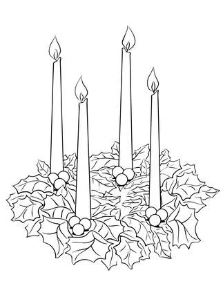 preschool advent wreath coloring page click advent wreath coloring page for printable version