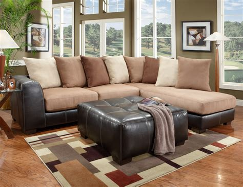 tan sectional couch roundhill furniture