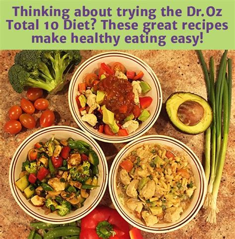 Droz 10 Detox Foods by Dr Oz S Total 10 Rapid Weight Loss Recipes Weight Loss