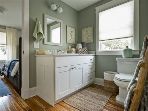 jack  jill bathroom pictures  blog cabin  diy