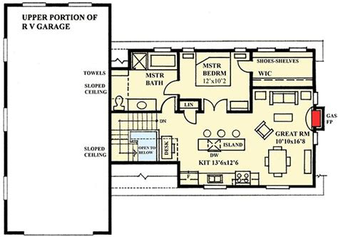 Rv Garage Plans With Apartment by 1000 Ideas About Rv Garage On Rv Garage Plans