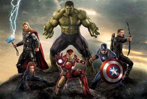 custom wall decor avengers poster hulk thor wallpaper