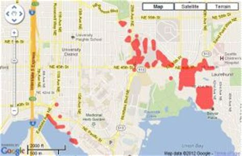 Seattle City Light Outages by Seattle City Light Power Outage Hits District The Seattle Times