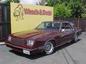 1980 Dodge Mirada Pictures Cargurus