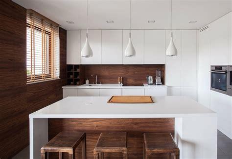 cocinas integrales de madera unos interiores impresionantes