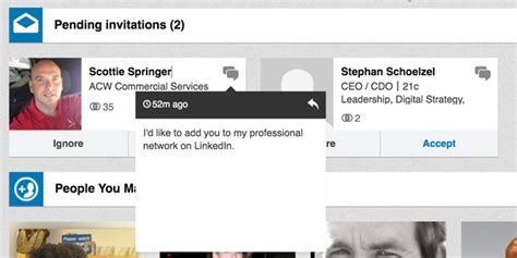 what s an appropriate response to an unsolicited linkedin