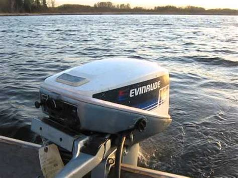 15 horse evinrude boat motor 1979 evinrude 15hp outboard motor youtube