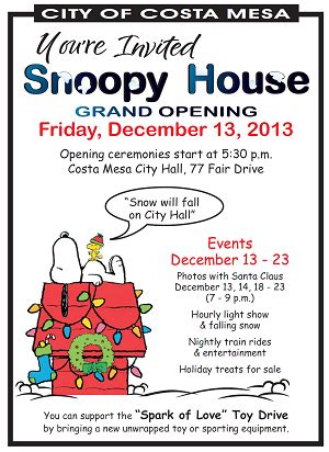 snoopy house costa mesa snoopy house grand opening marquee costa mesa