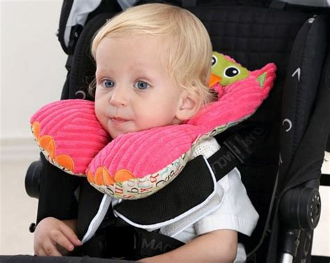 car seat pillow for toddlers travel friends total support headrest travel car seat