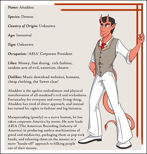 character biography exle character bio abaddon by everyday grind comic on deviantart