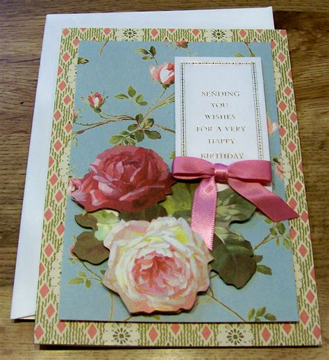 Handmade Beautiful Birthday Cards - the collection of beautiful birthday cards for friends