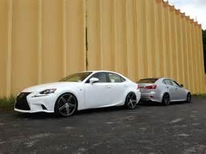 lexus cars news is350 f sport with vossen wheels