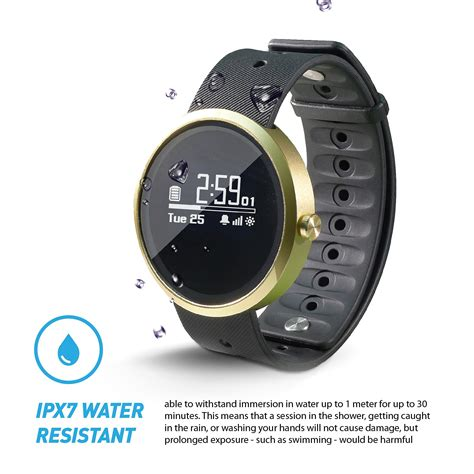 Smart Water Resistant Jarv Advantage Ipx7 Water Resistant Smart Fitness