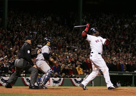 david ortiz walk home run 2004 alcs 4 sports