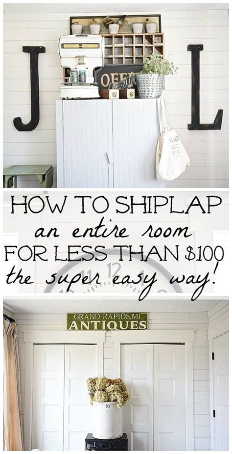 How To Hang Shiplap 25 Best Ideas About Shiplap Siding On Living