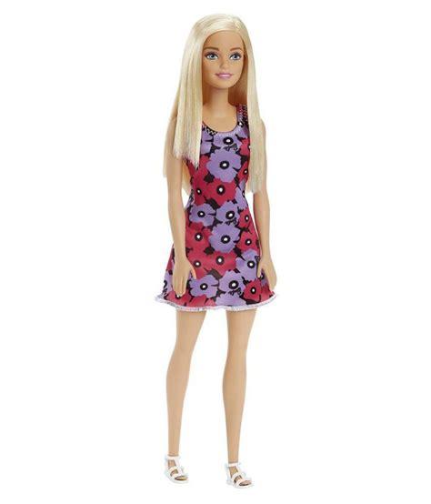 design doll error barbie blonde hair big floral design doll buy barbie