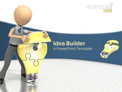 idea presentation template idea builder a powerpoint template from presentermedia