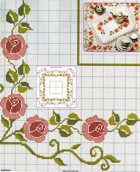 Imagenes Flores En Punto De Cruz | imagenes de flores de punto de cruz imagui