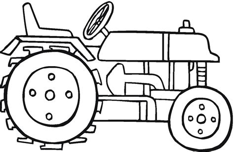 tractor coloring sheets coloring pages