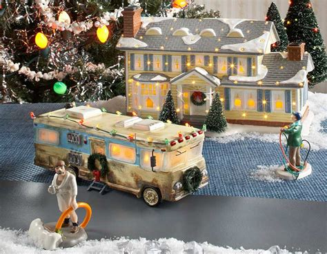 christmas vacation house christmas vacation village by department 56 now available at parsons