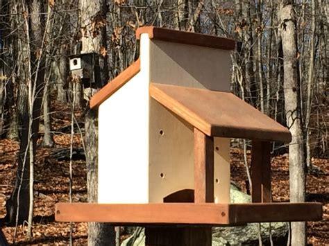 diy platform bird feeder plans build a rustic country