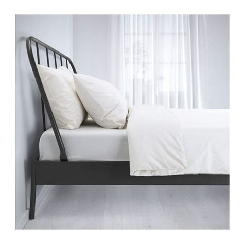 Do Ikea Bed Frames Easily Kopardal Bed Frame Grey Lur 246 Y Standard Ikea