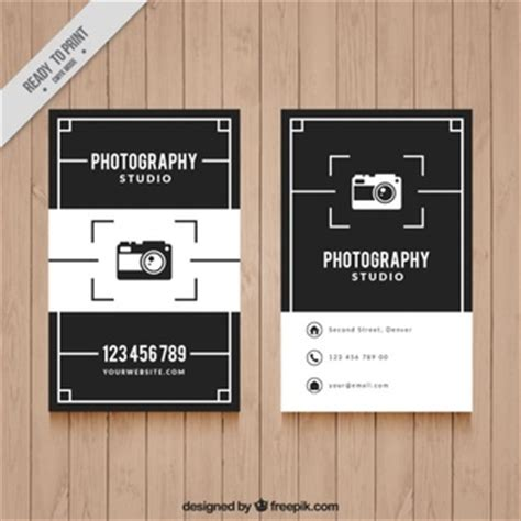 photography business card vectors   psd files