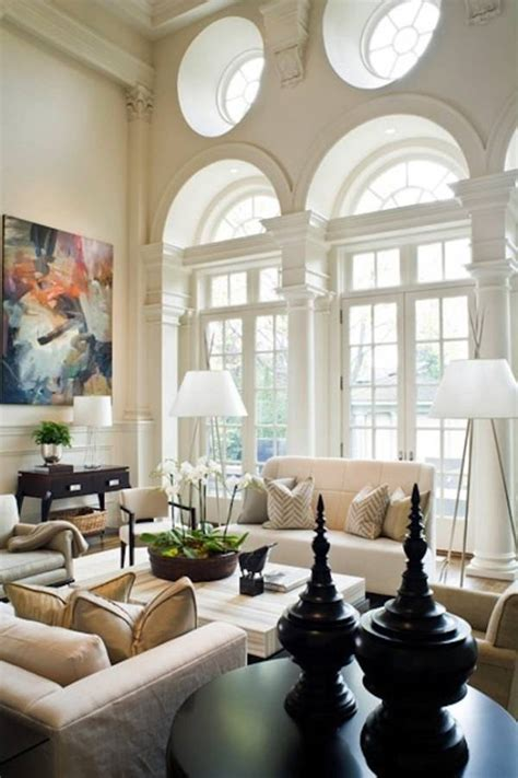decorate high ceiling living room 25 ceiling living room design ideas