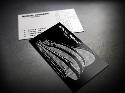 architecture business card by axnorpix graphicriver architect business card on behance