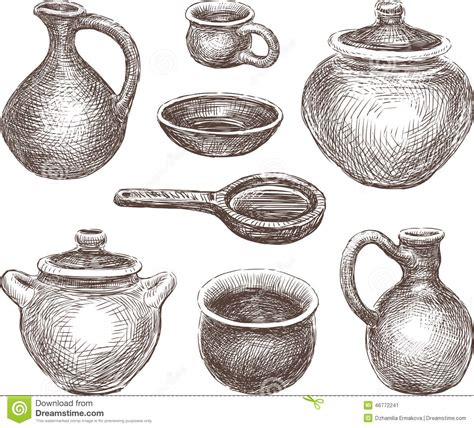 Kitchen Design Contest Pottery Stock Photo Image 46772241