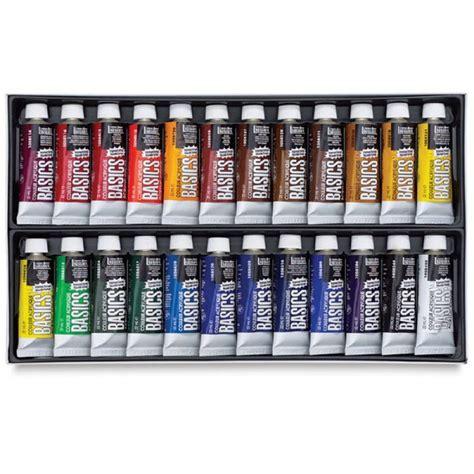 buy liquitex basics acrylic color set pack of 24