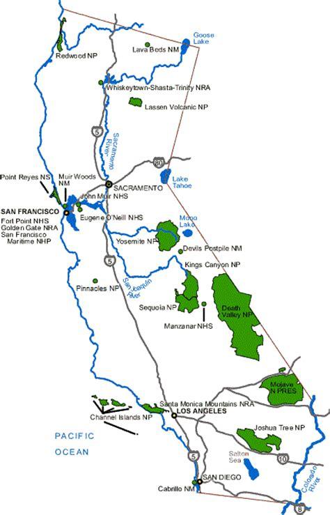 california map parks california